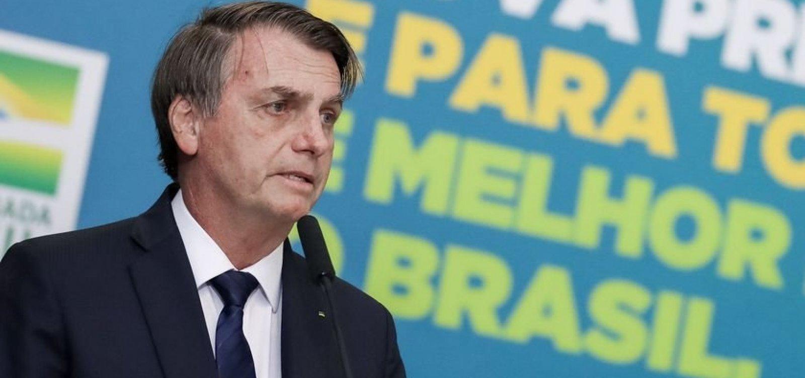 [Bolsonaro chama empresários de 'heróis' e promete que não irá 'atrapalha-los' ]