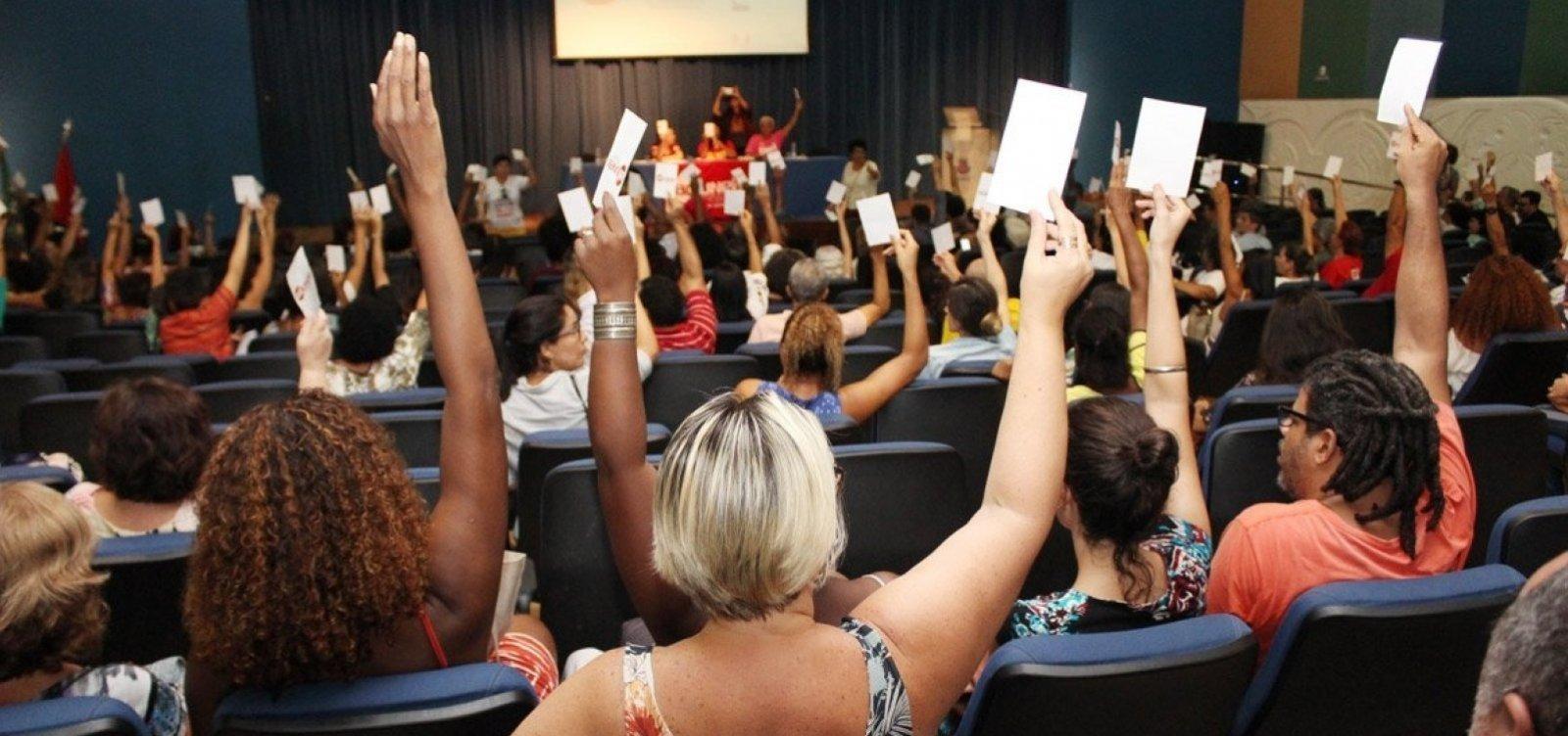 [Greve nas universidades estaduais foi planejada há mais de um ano, afirma coordenadora da Aduneb]