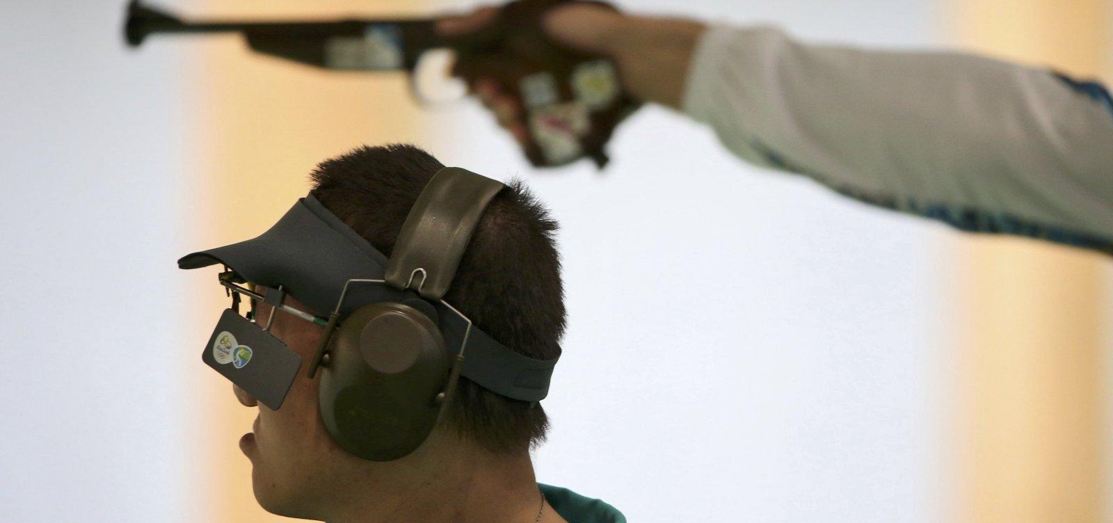 [Com novo decreto, maiores de 14 anos podem praticar tiro com autorização dos dois pais]