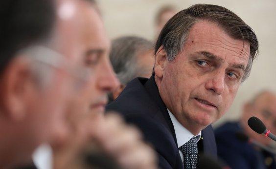 [Bolsonaro recebe visita de executivo da Globo que classificou como 'inimigo']