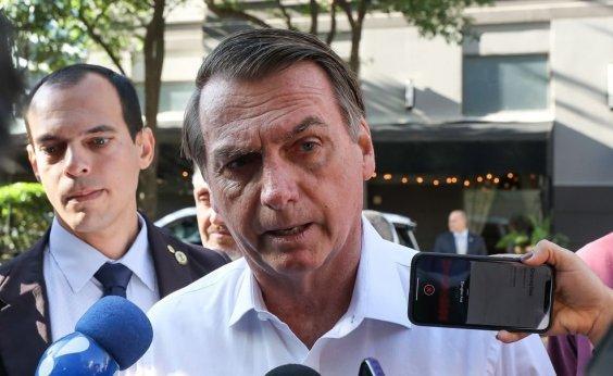 [Bolsonaro diz que 'coração manda' manter decisão contra cobrança de bagagens em voos]