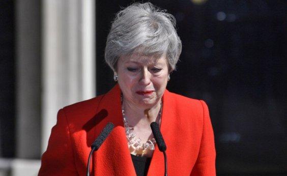 [Primeira-ministra do Reino Unido, Theresa May anuncia renúncia ao cargo]