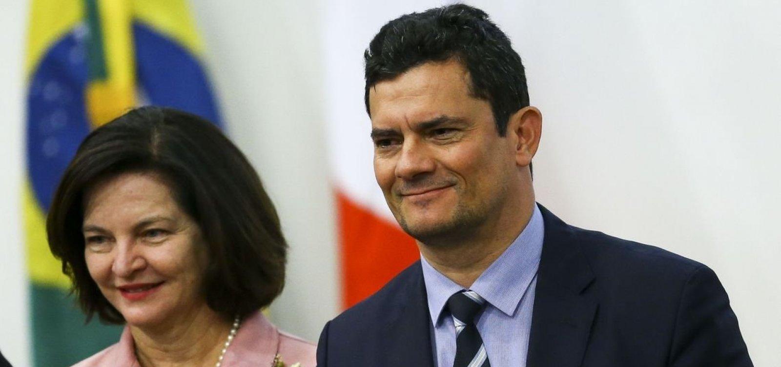 [Moro pediu verba de multa da Petrobras para seu ministério]