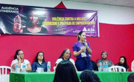 [Audiência discute violência contra mulher e empoderamento em Valença]