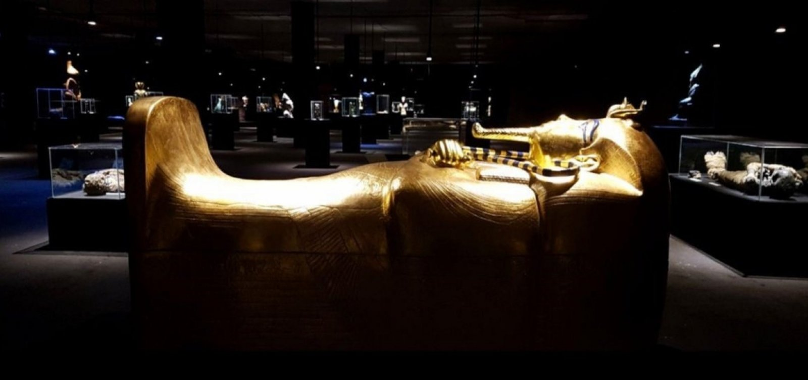[Exposição reúne artefatos do Egito, Terra Santa e Pompeia em Salvador]