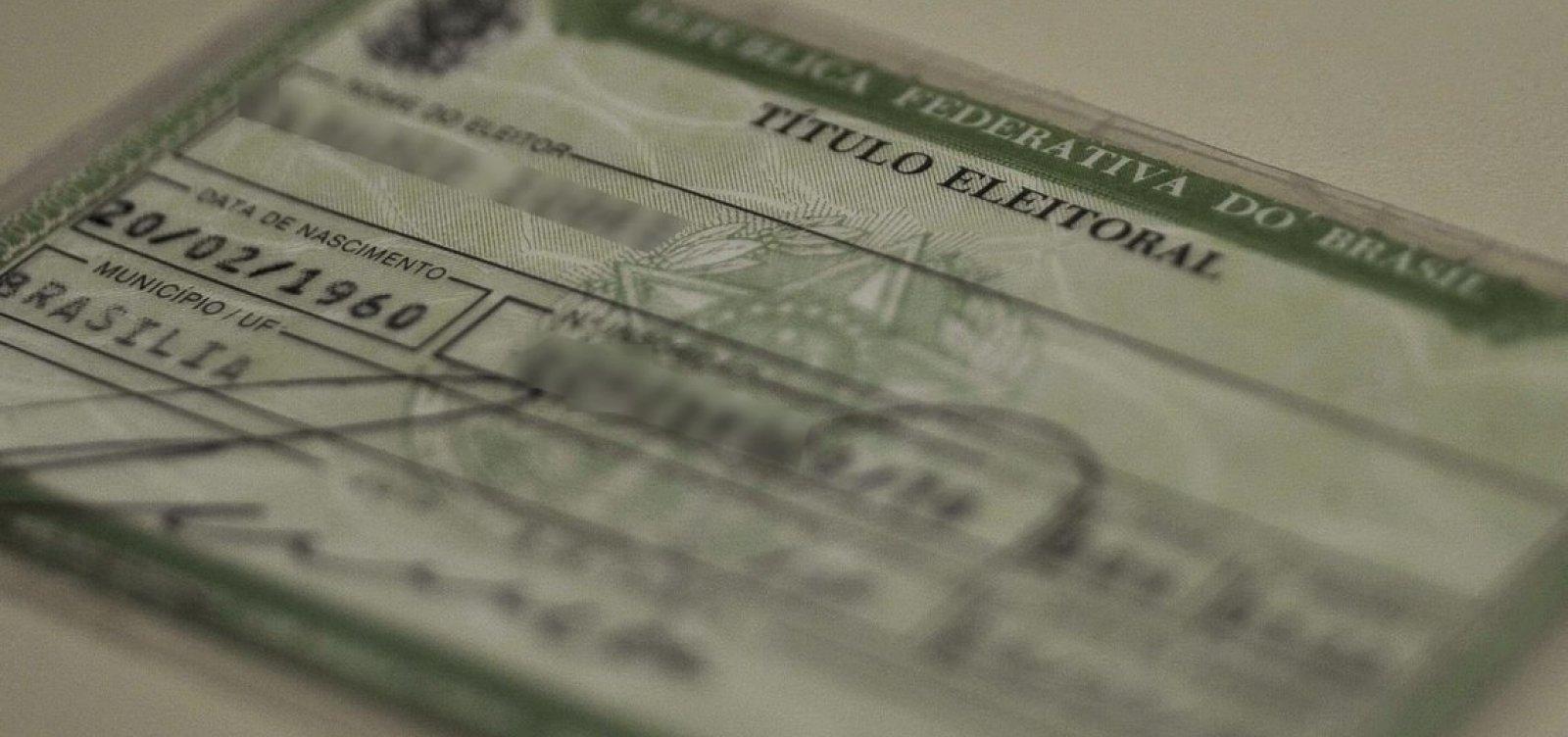 [Justiça Eleitoral cancela mais de 90 mil títulos no estado]