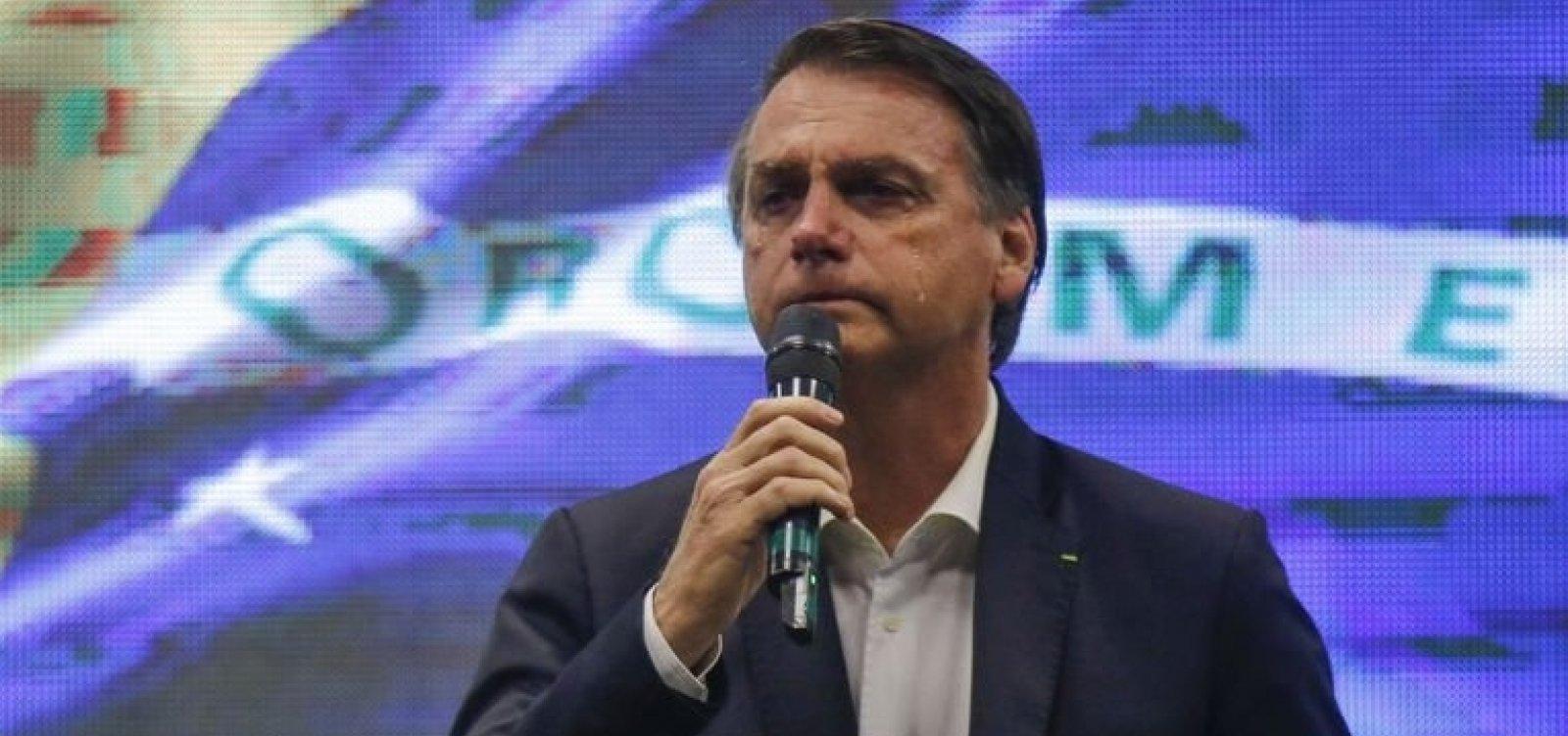 ['Que Deus receba essas vidas de braços abertos', diz Bolsonaro sobre morte de Gabriel Diniz e tripulantes]