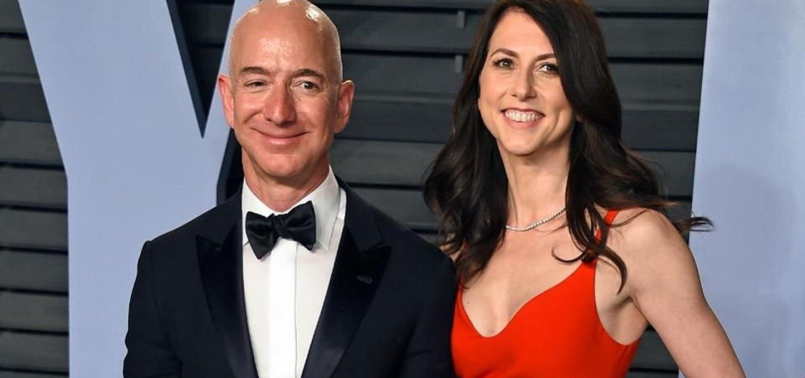 [MacKenzie Bezos vai doar metade de sua fortuna para a caridade]