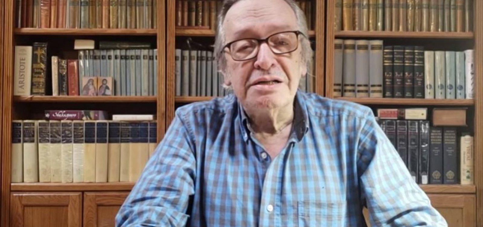 [Olavo de Carvalho ataca mulher de Mourão: impregnada de 'vulgaridades esquerdistas']