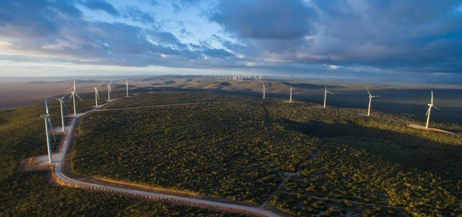 [Bahia é responsável por 26% da capacidade instalada de energia eólica do país]