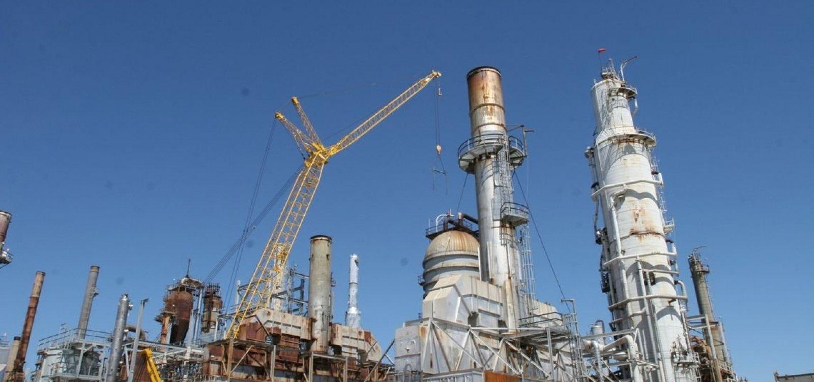 [Fachin suspende venda de refinarias da Petrobras e TAG]