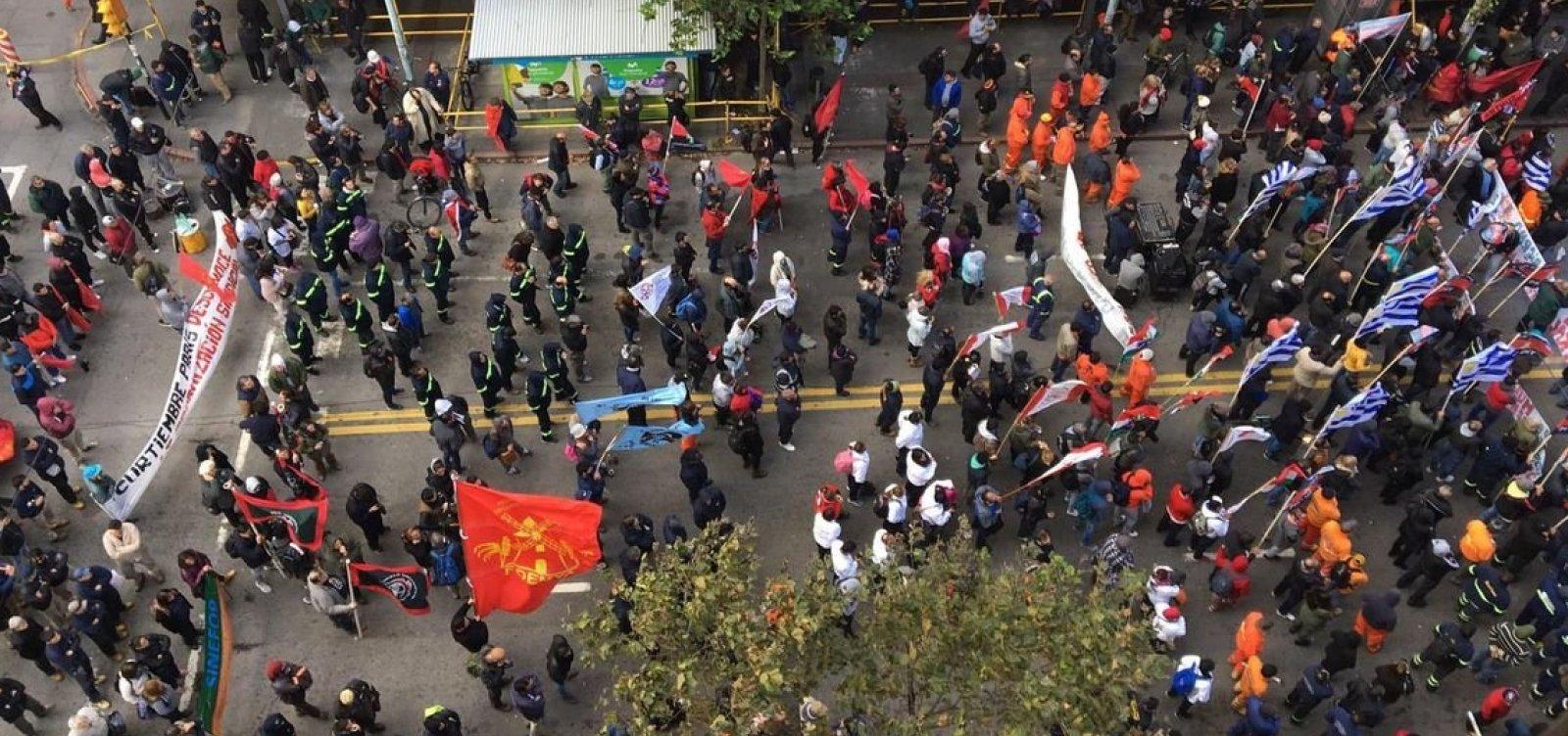 [Uruguai: trabalhadores do setor de gás iniciam paralisação geral]