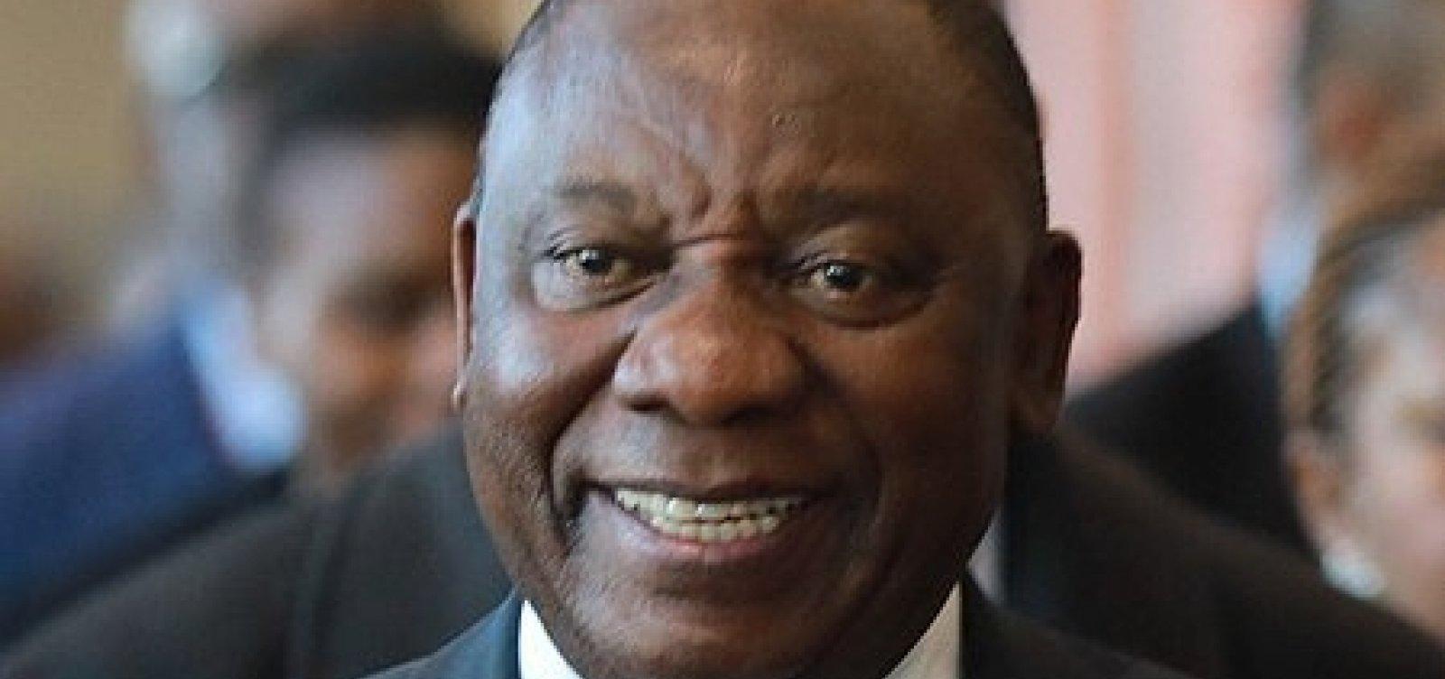 [Metade dos ministérios da África do Sul será comandada por mulheres]