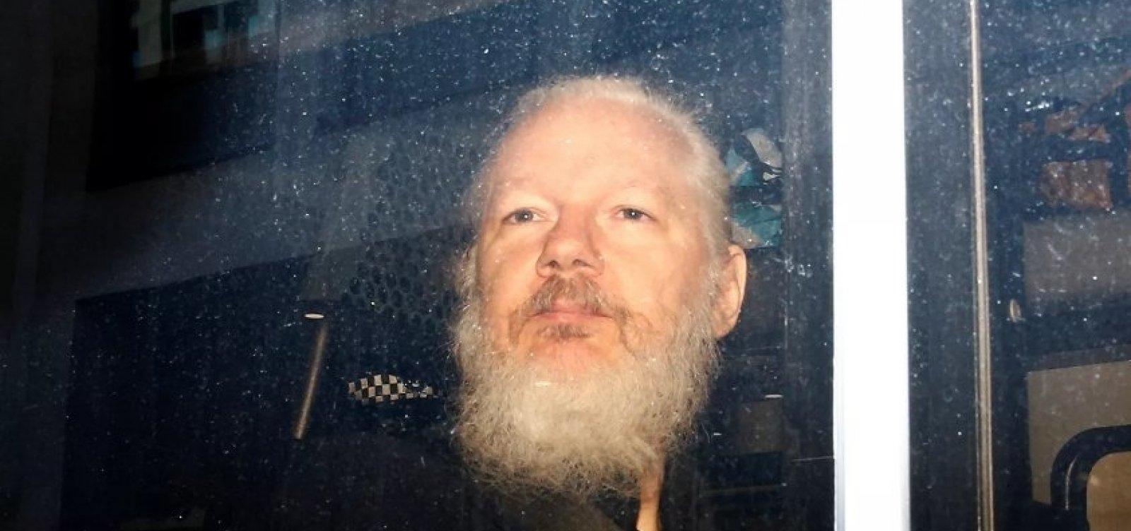 [Audiência sobre extradição de Julian Assange é adiada]