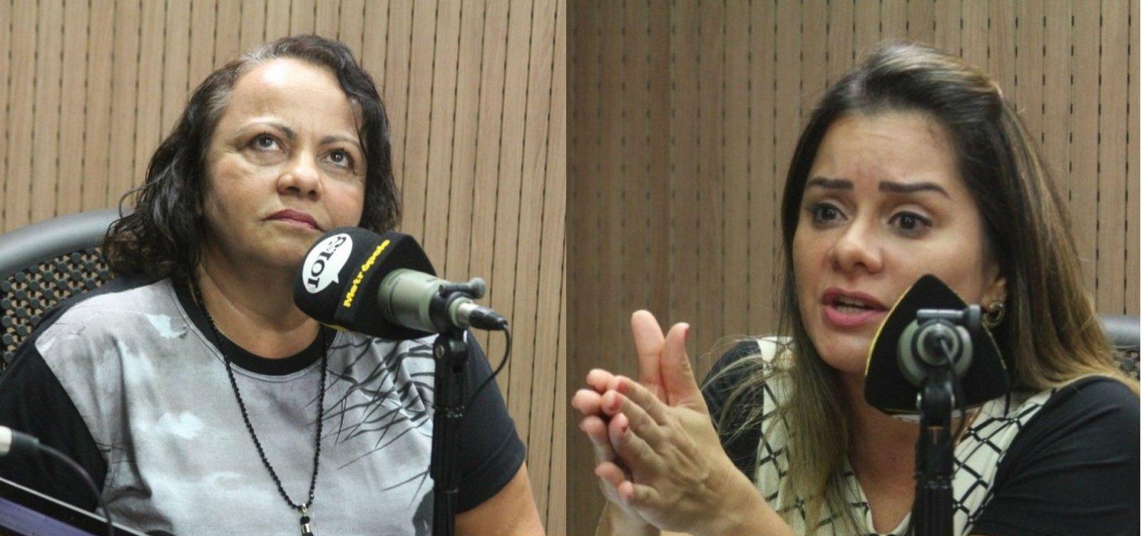 [Lorena diz que estatuto exclui evangélicos e Aladilce rebate: 'Não foram alvo de perseguição']