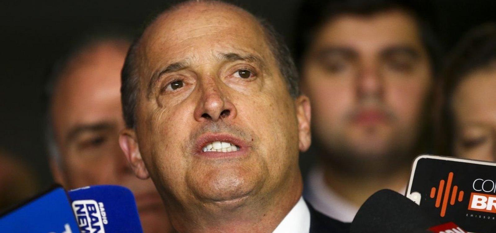[Onyx insinua possível saída de Bolsonaro do PSL]