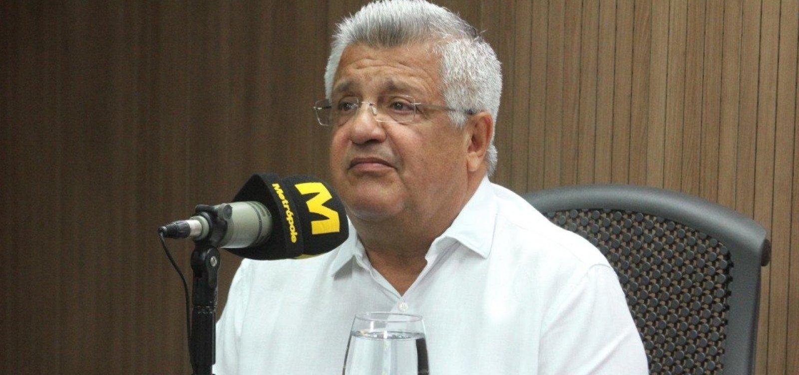 [Bacelar elogia Neto, fala de candidatura à prefeitura de Salvador e espera espaço em governo Rui]