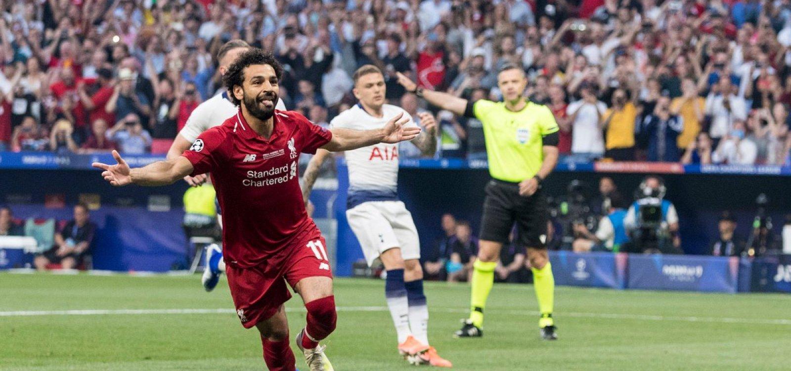 [Liverpool vence Tottenham por 2 a 0 e conquista Liga dos Campeões]