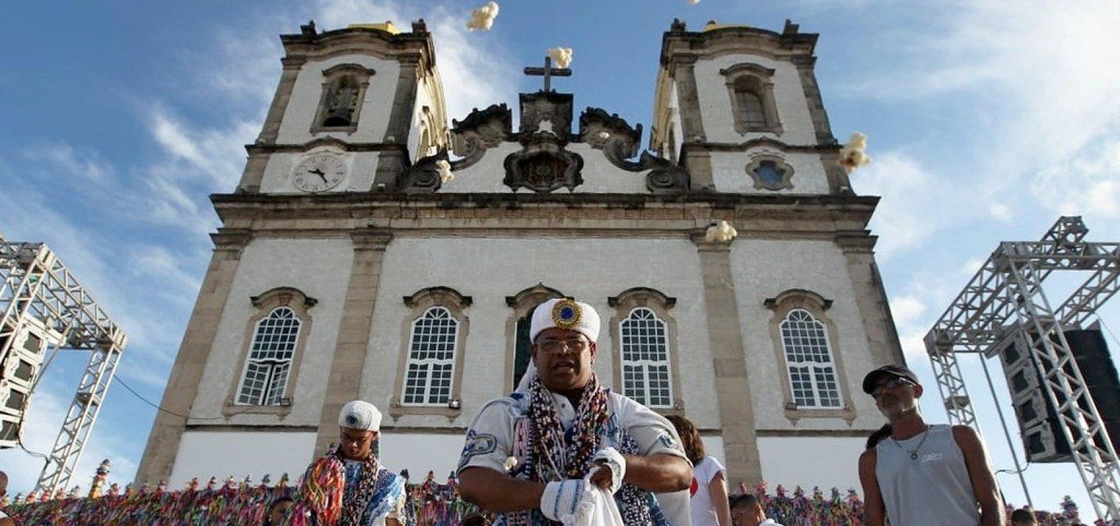 [Disputa por espaço entre católicos e candomblecistas no Bonfim é mediada pelo MP]