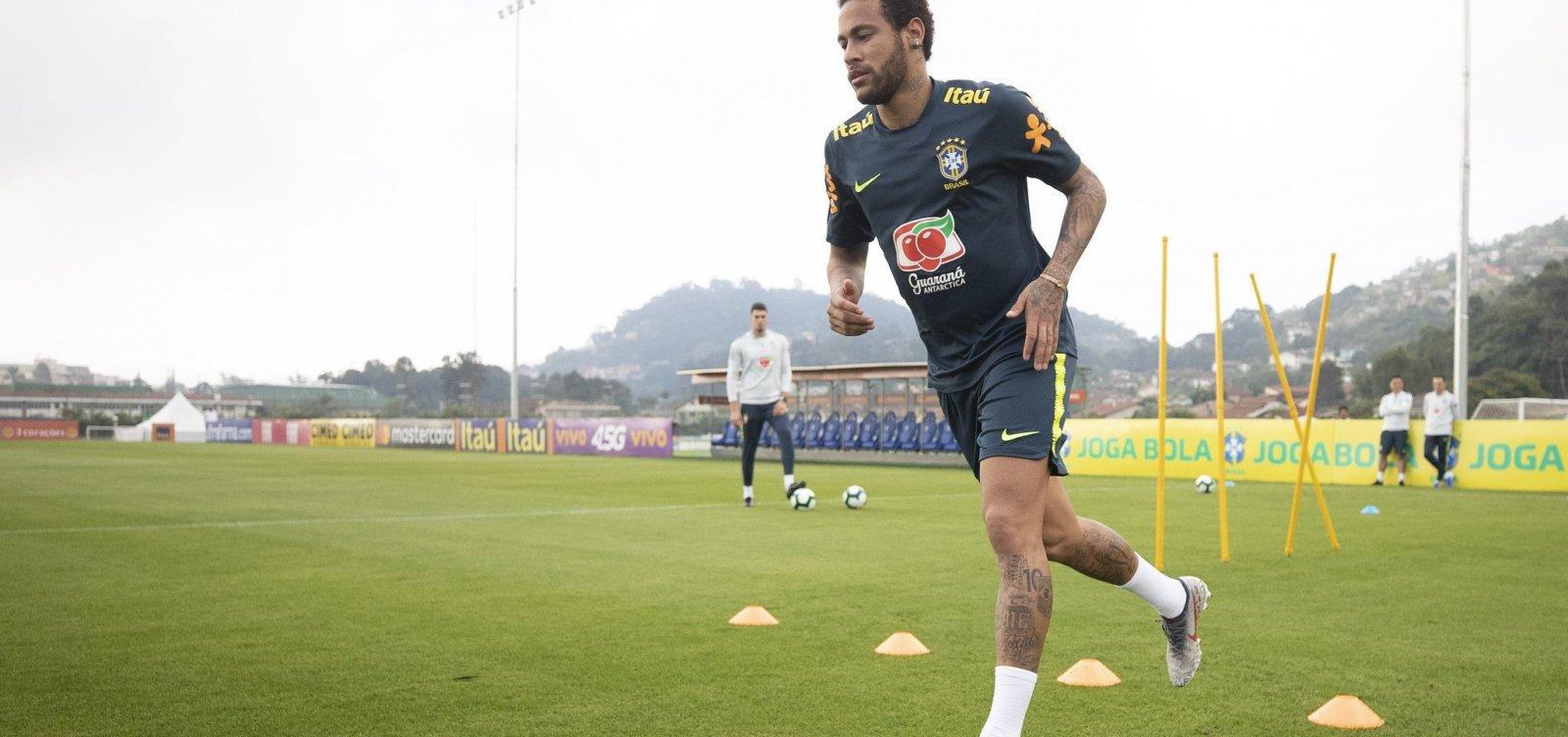 [Polícia Civil do Rio vai até a Granja Comary em busca de informações sobre Neymar]