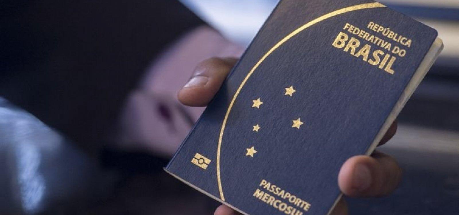 [PF deve ter recursos para emissão de passaporte só até agosto]
