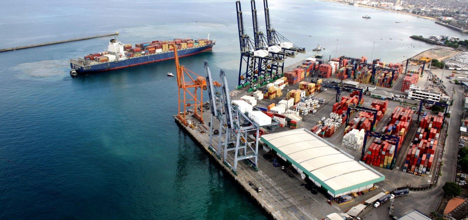 [Investimentos do Tecon Salvador para expansão portuária na Bahia é da ordem de R$ 715 milhões ]