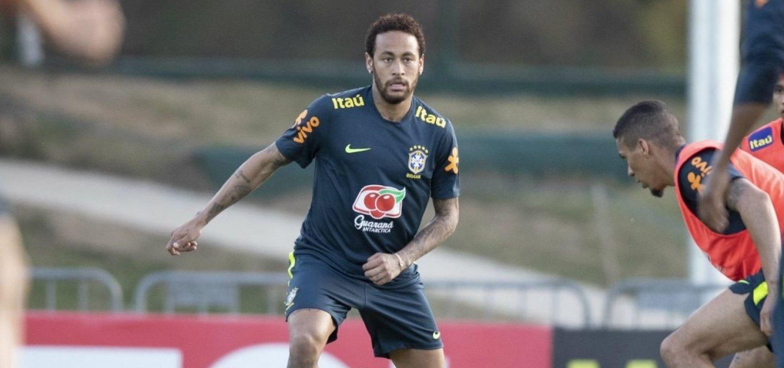 [CBF descarta cortar Neymar da Copa América]