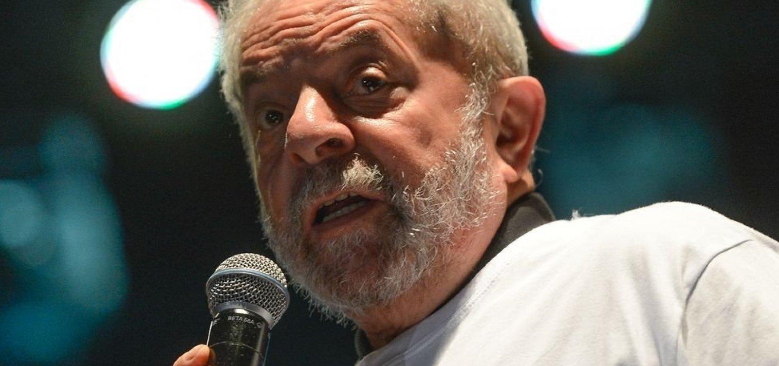 [MPF diz que Lula tem direito a progredir para regime semiaberto]