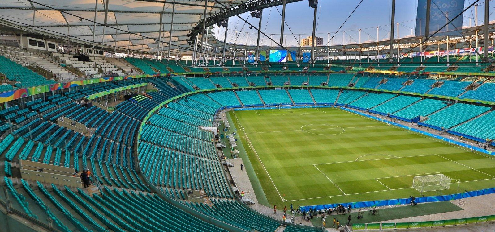 [Lixo dos jogos na Fonte Nova durante Copa América será reciclado]
