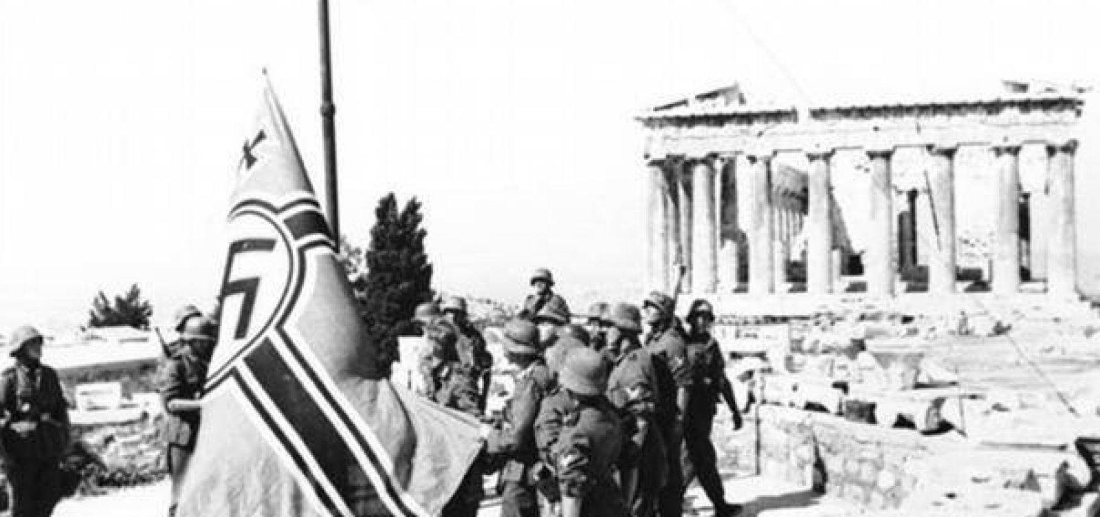 [Grécia quer negociar reparações de guerra com Alemanha]