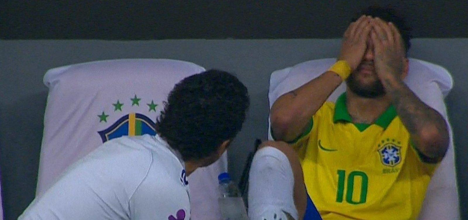 [Brasil vence o Catar por 2 a 0 em amistoso; Neymar sai machucado]