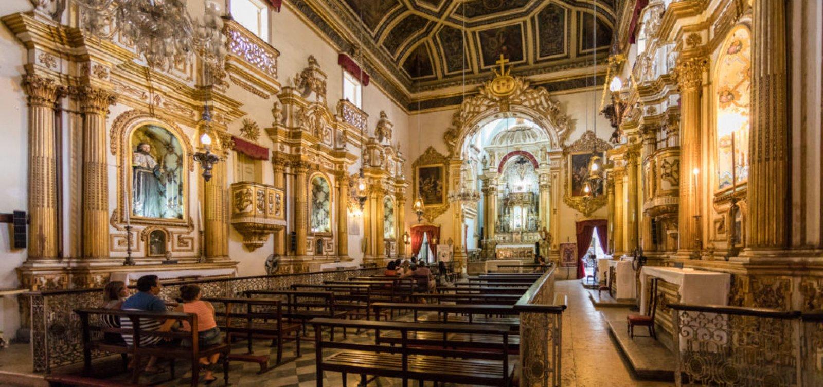 [MPF investiga retirada ilegal de obras de artista baiano da Igreja da Ordem Terceira de São Francisco]
