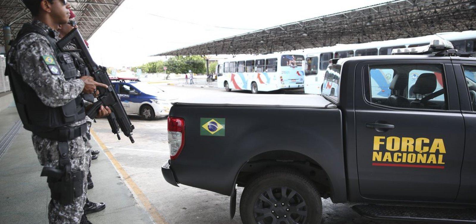 [Força Nacional atuará no Ceará por mais 90 dias]
