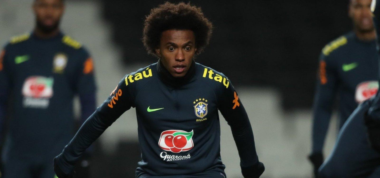 [Willian é convocado para o lugar de Neymar na seleção]