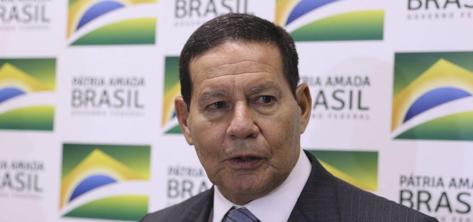 [Moeda única seria avanço para América do Sul, diz Mourão]