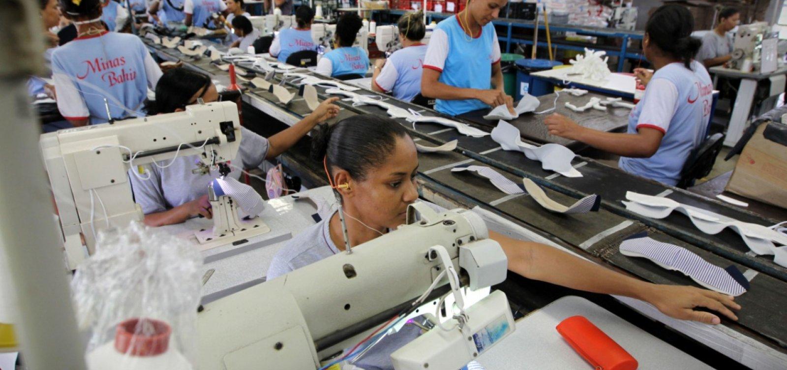 [Retomada da atividade industrial eleva empregos na Bahia, diz SDE]