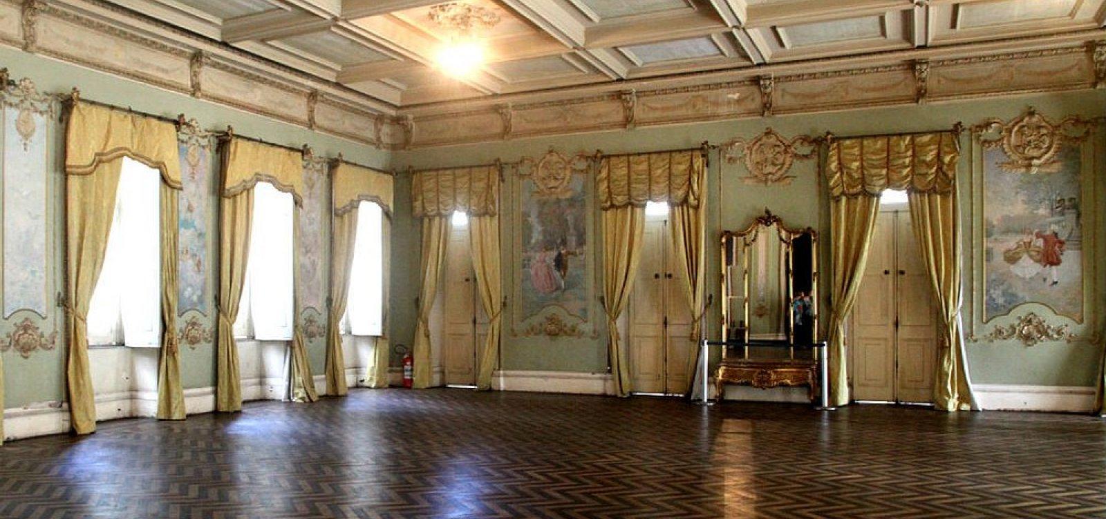 [Salão Nobre do Palácio da Aclamação que funciona como cerimonial será restaurado]