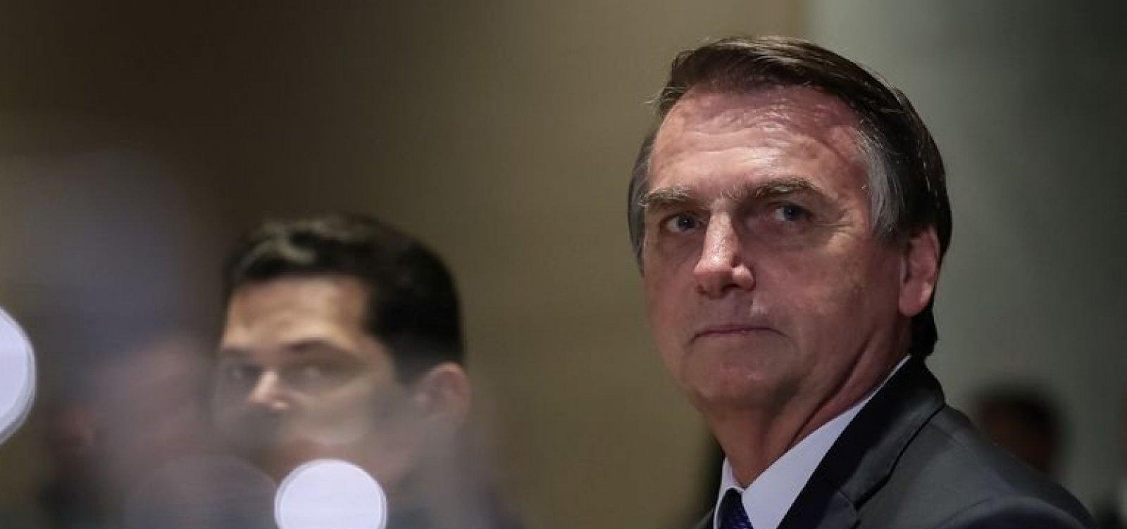 [Bolsonaro diz que benefícios serão suspensos caso Congresso não aprove crédito ao governo]