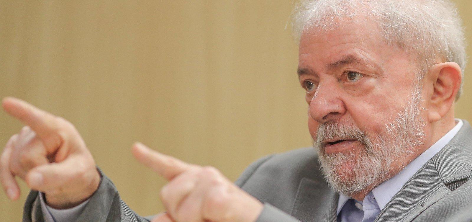 [Para Lula, esquerda precisa defender 'soberania nacional']