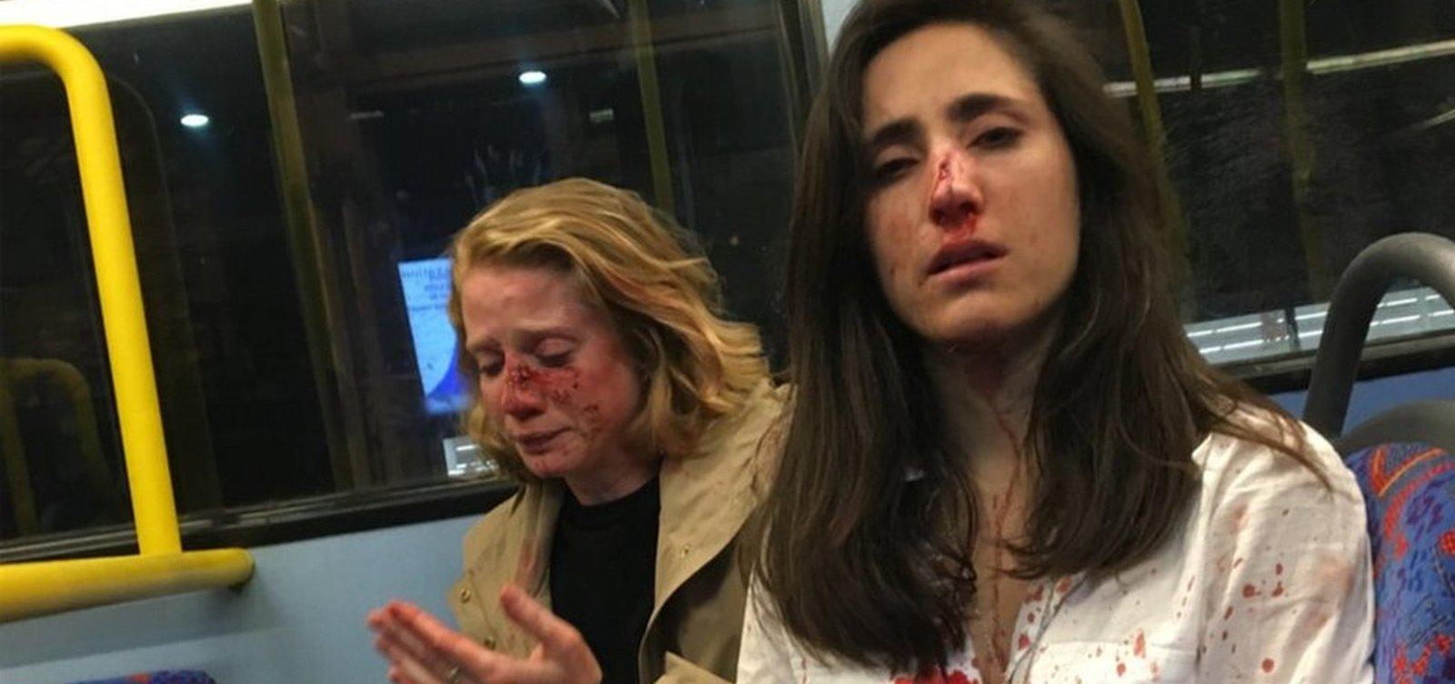 [Após pagamento de fiança, detidos por agredir casal de lésbicas ganham liberdade]