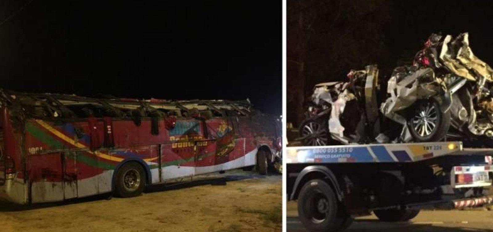[Ônibus que capotou e deixou 10 mortos em SP não tinha condições de trafegar]