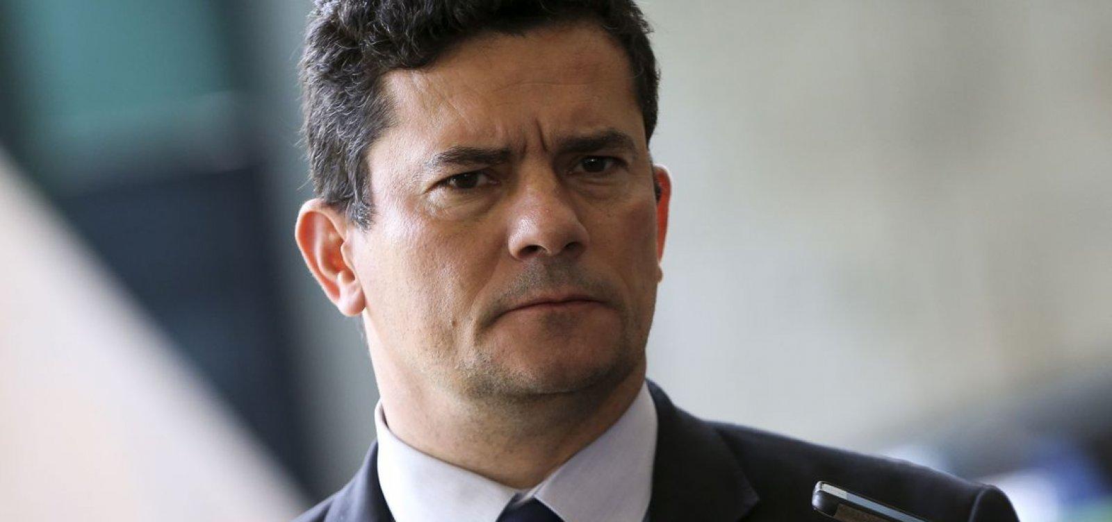 [Sergio Moro abandona coletiva em Manaus após ser questionado sobre mensagens]
