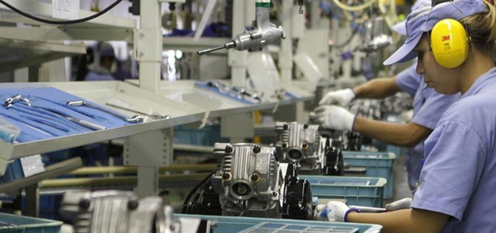 [Produção industrial baiana cresce 7,4% em abril, mas segue em queda frente a 2018]