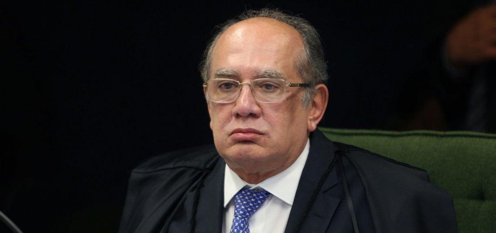 [Gilmar Mendes diz que julgará suspeição de Moro no caso do tríplex do Guarujá]