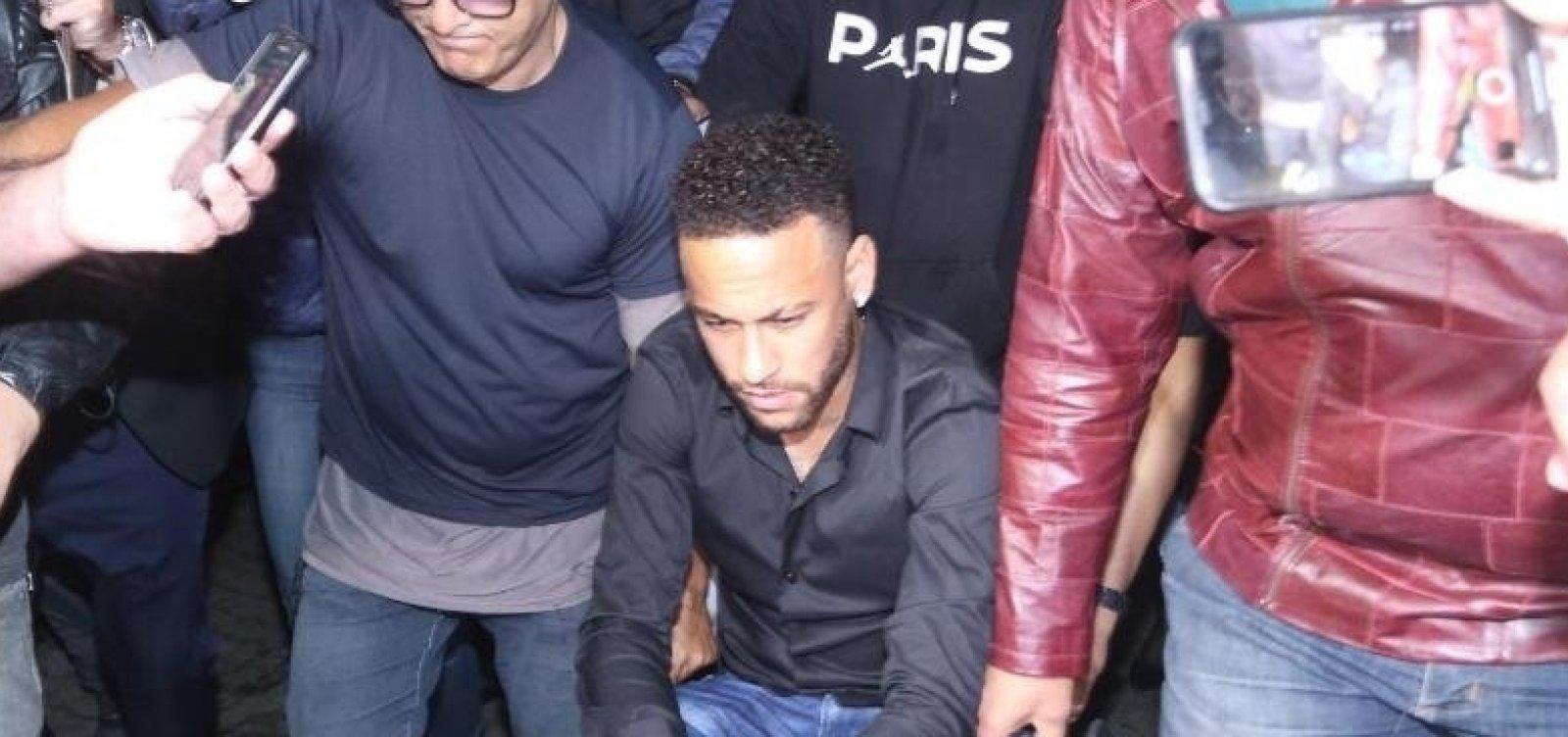 [Neymar deve depor no final de semana com segurança especial]