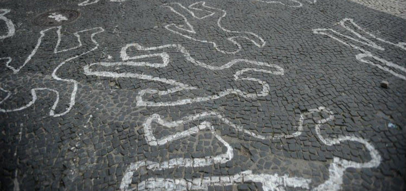 [Brasil registra queda no índice de mortes violentas; Bahia tem redução de 16%]