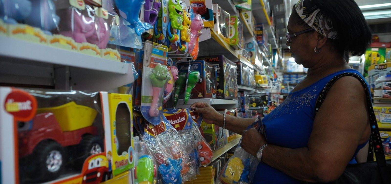 [Na Bahia, vendas do varejo crescem 0,9% de março para abril]