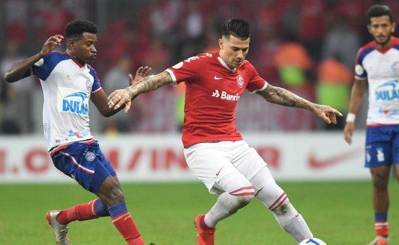 [Bahia descarta pedir anulação de jogo contra o Inter, mas quer imagens do VAR]