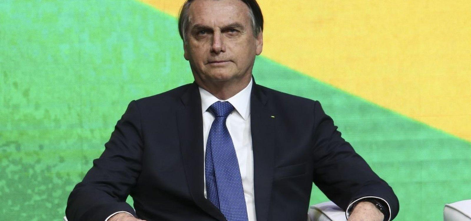 [Bolsonaro diz que, com a 'nova política', não há intermediários em seu governo]
