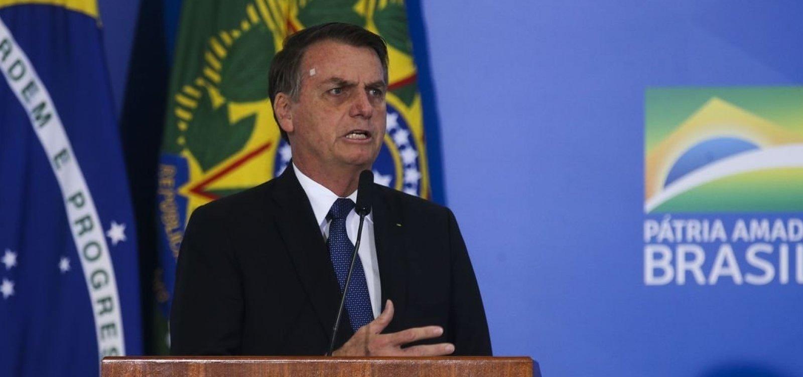 ['Única forma de se comunicar com segurança total é pessoalmente', diz Bolsonaro]